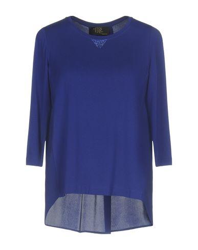 Фото - Женскую футболку VDP CLUB ярко-синего цвета