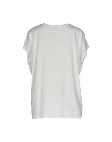 Фото 2 - Женскую футболку VDP COLLECTION белого цвета