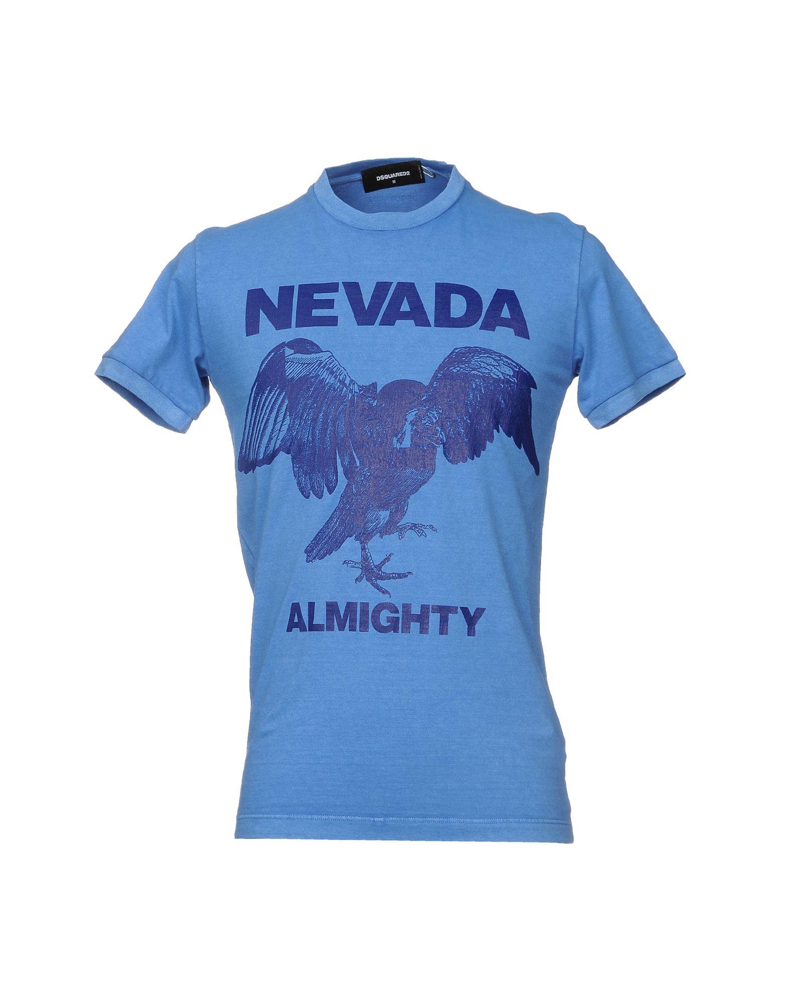 DSQUARED2 Herren T-shirts Farbe Himmelblau Größe 5