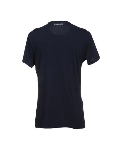 Фото 2 - Женскую футболку RODA темно-синего цвета