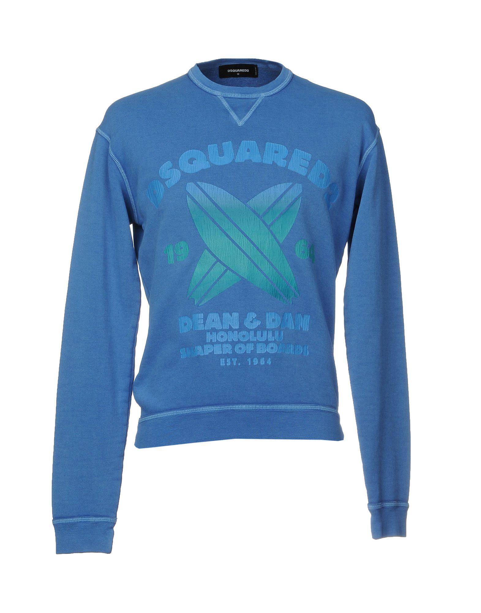 DSQUARED2 Herren Sweatshirt Farbe Blau Größe 5