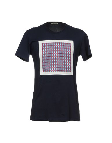 Фото - Женскую футболку RODA темно-синего цвета