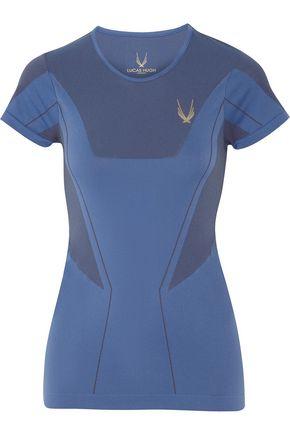 LUCAS HUGH Astor stretch-knit T-Shirt
