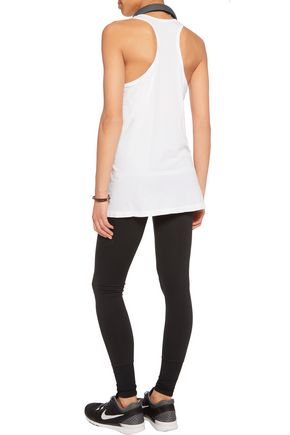 YUMMIE by HEATHER THOMSON® Leila perforated stretch-jersey tank