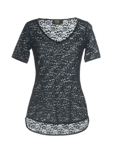 Фото - Женскую футболку VDP CLUB темно-синего цвета
