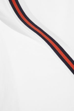 P.E NATION Ball Boy striped cotton-jersey top