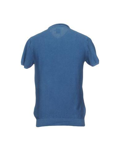 Фото 2 - Мужское поло  пастельно-синего цвета