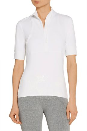ADIDAS by STELLA McCARTNEY Climacool® stretch-jersey top