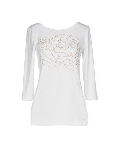 Фото - Женскую футболку VDP COLLECTION белого цвета