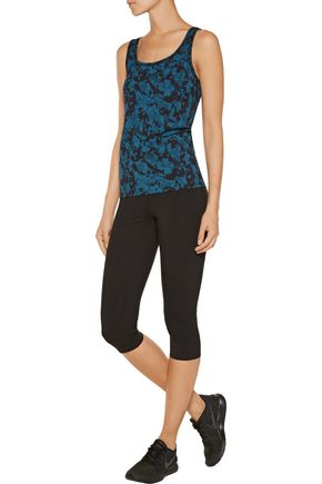 YUMMIE by HEATHER THOMSON® Maria printed stretch-cotton tank