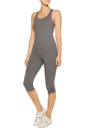 YUMMIE by HEATHER THOMSON® Maria stretch cotton-blend tank