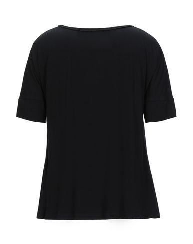Фото 2 - Женскую футболку VDP COLLECTION черного цвета