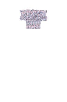 PHILOSOPHY di LORENZO SERAFINI Ruched crop top Cropped sweaters Woman f