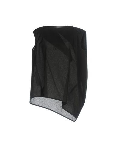Купить Топ без рукавов черного цвета