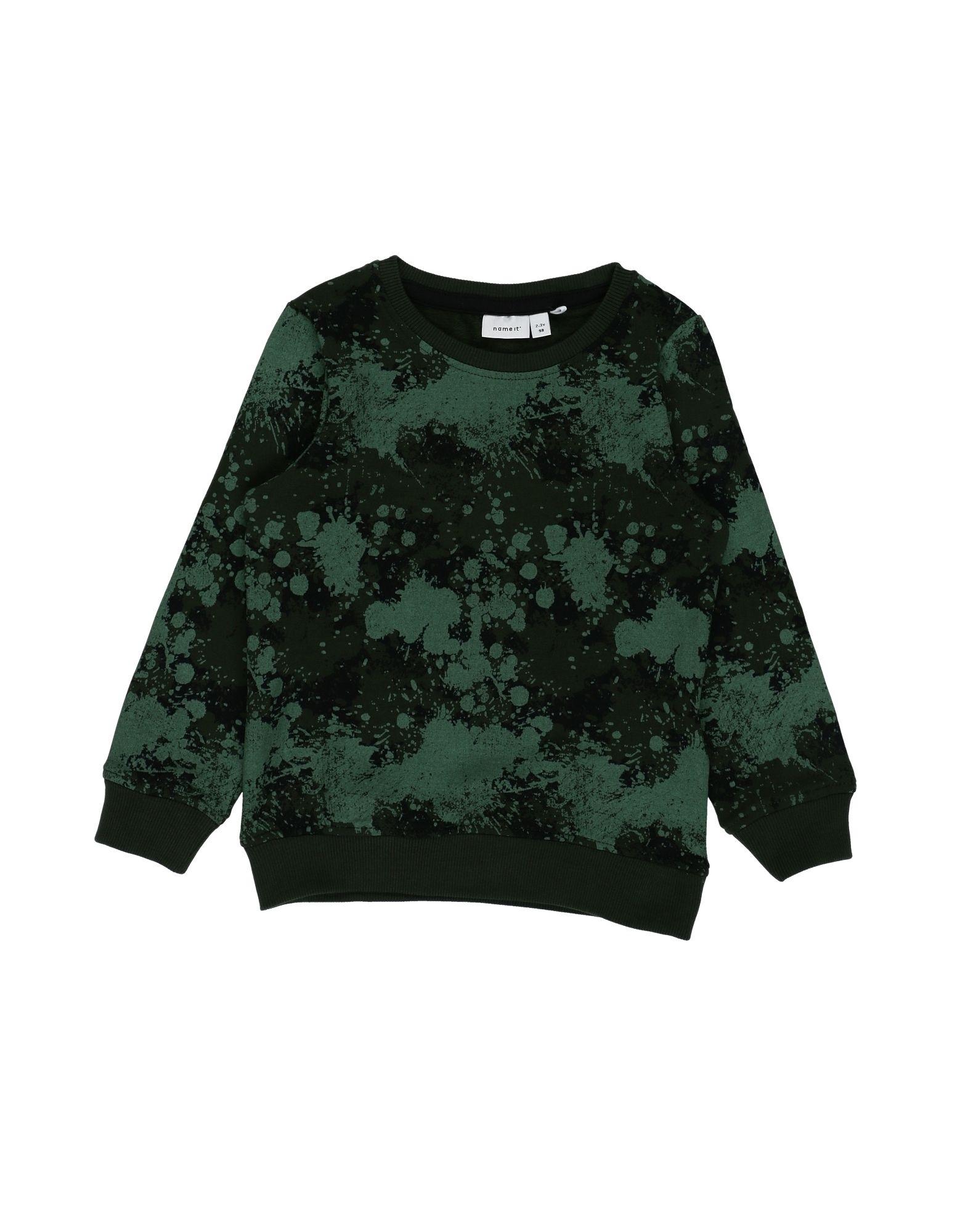 NAME IT® Jungen 3-8 jahre Sweatshirt2 grün