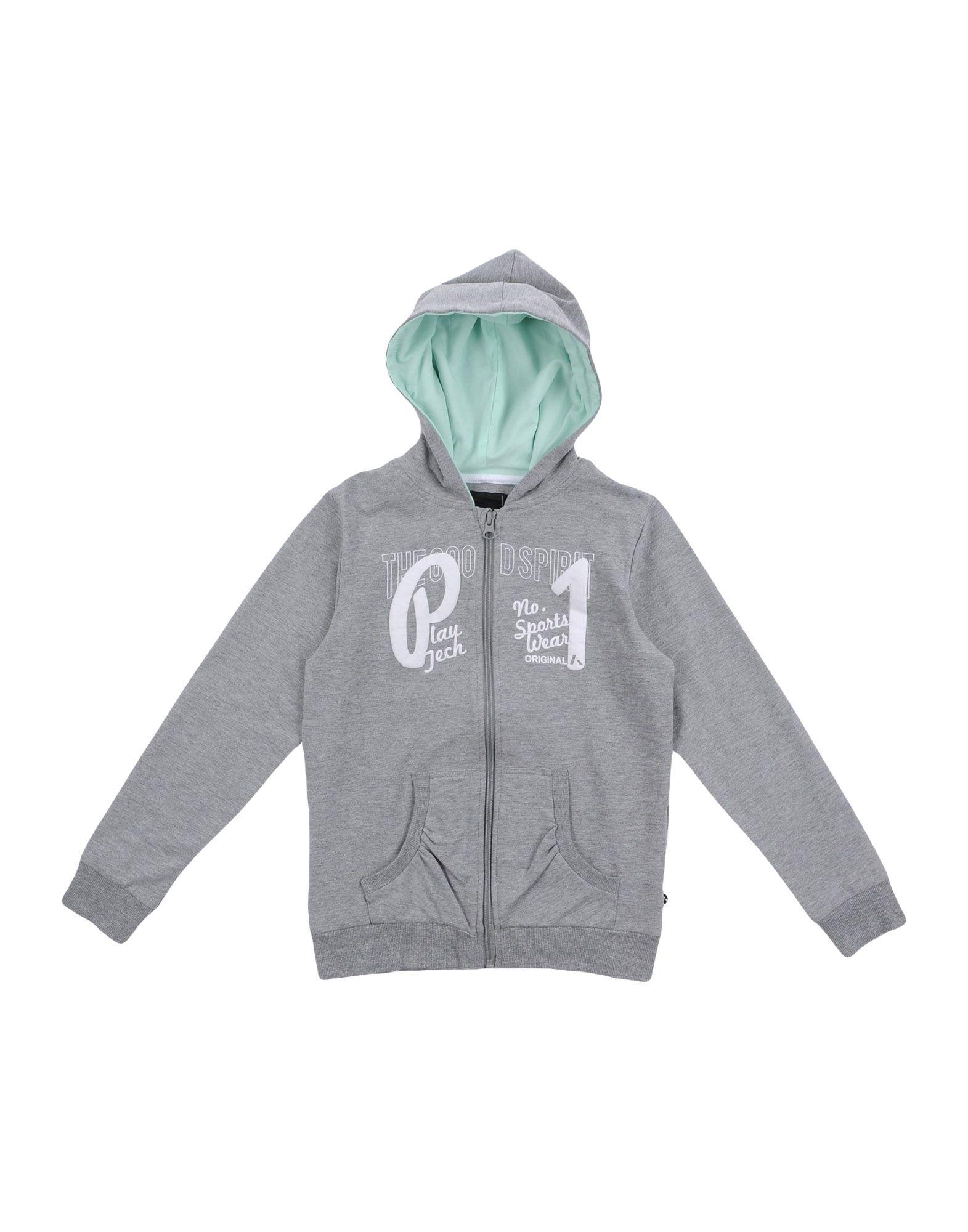 PLAYTECH by NAME IT® Mädchen 9-16 jahre Sweatshirt1 grau