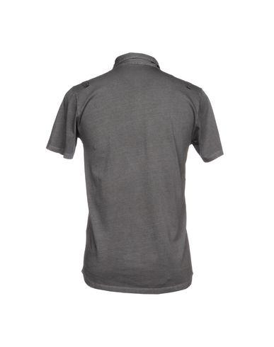 Фото 2 - Мужское поло BELLWOOD свинцово-серого цвета