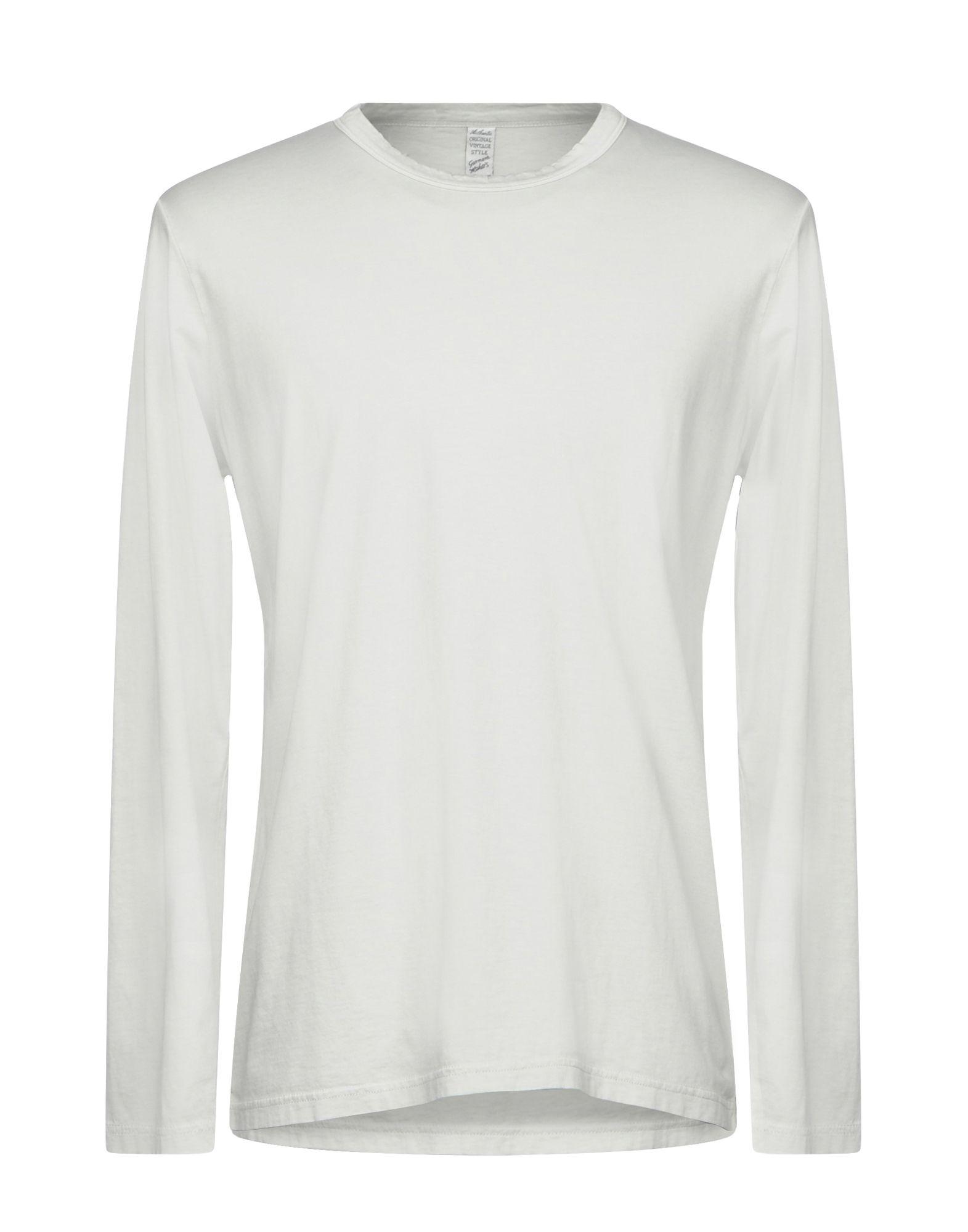 《送料無料》AUTHENTIC ORIGINAL VINTAGE STYLE メンズ T シャツ ライトグレー S コットン 100%