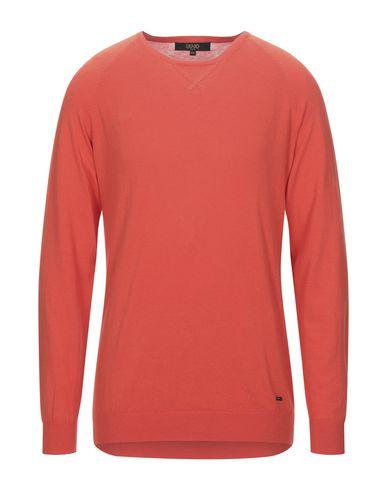 Фото - Мужской свитер LIU •JO MAN оранжевого цвета