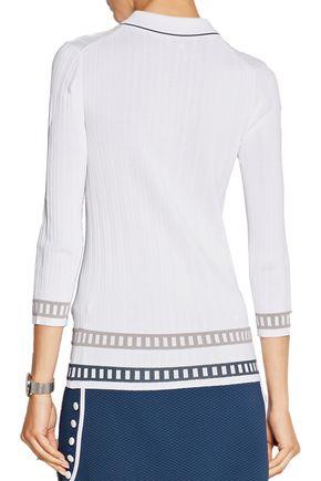 L'ETOILE SPORT Stretch-knit sweater