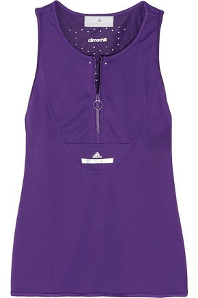 ADIDAS BY STELLA MCCARTNEY WOMAN CLIMACHILL® STRETCH TANK PURPLE
