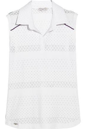 L'ETOILE SPORT Pointelle-knit top