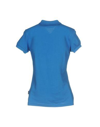 Фото 2 - Женское поло  синего цвета