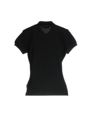 Фото 2 - Женское поло  черного цвета