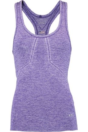 APL® ATHLETIC PROPULSION LABS Marled stretch-knit tank
