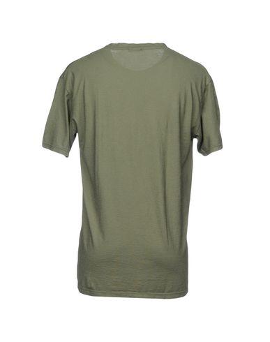 Фото 2 - Женскую футболку OFFICINA 36 цвет зеленый-милитари