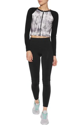 KAIN Nadia cropped neoprene top