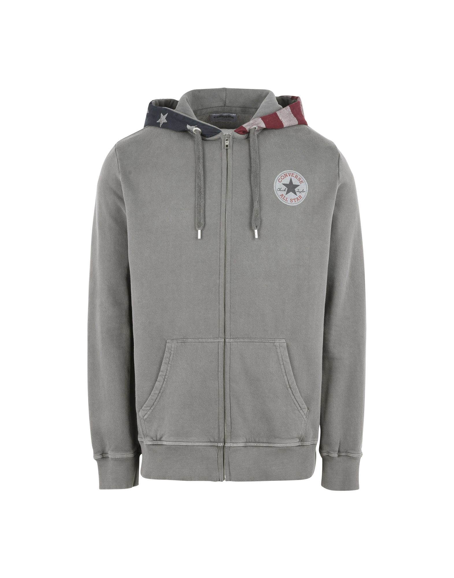 CONVERSE ALL STAR Herren Sweatshirt Farbe Grau Größe 6