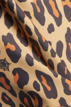 BODYISM + Charlotte Olympia I Am Wild leopard-print stretch tank