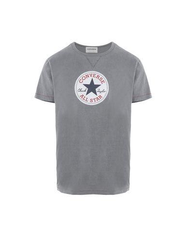 Фото - Женскую футболку CONVERSE ALL STAR свинцово-серого цвета