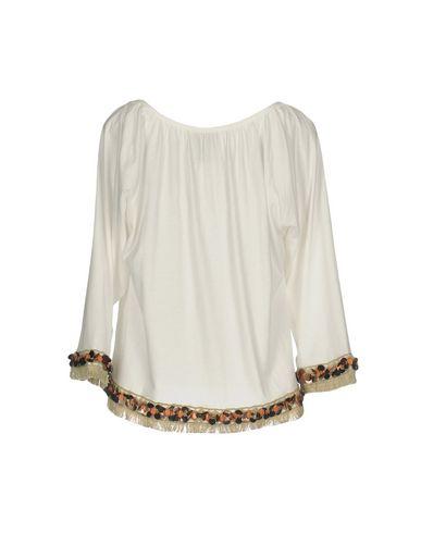 Фото 2 - Женскую футболку JIJIL белого цвета