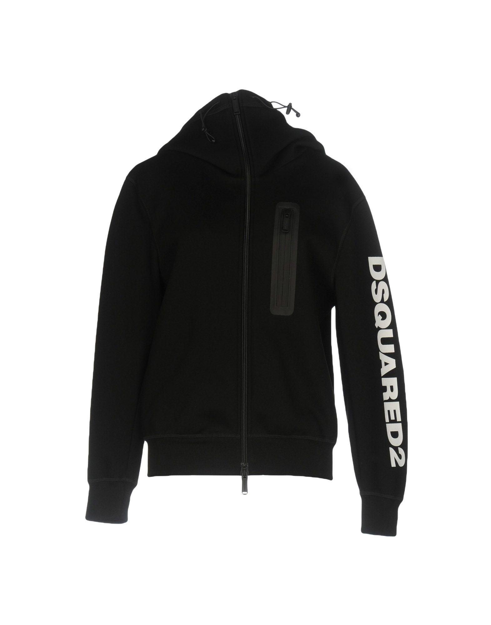 DSQUARED2 Damen Sweatshirt Farbe Schwarz Größe 4