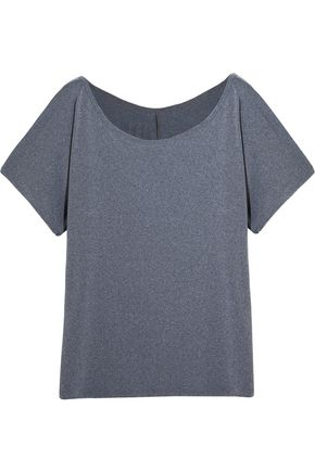 BODYISM Emma off-the-shoulder stretch-jersey T-shirt