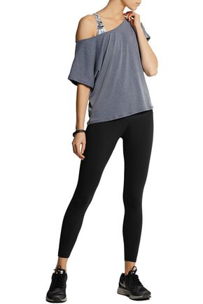 BODYISM Emma off-the-shoulder stretch-jersey T-shirt