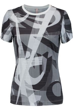NO KA 'OI Ule printed stretch-jersey top