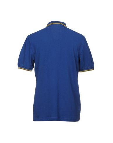 Фото 2 - Мужское поло  синего цвета