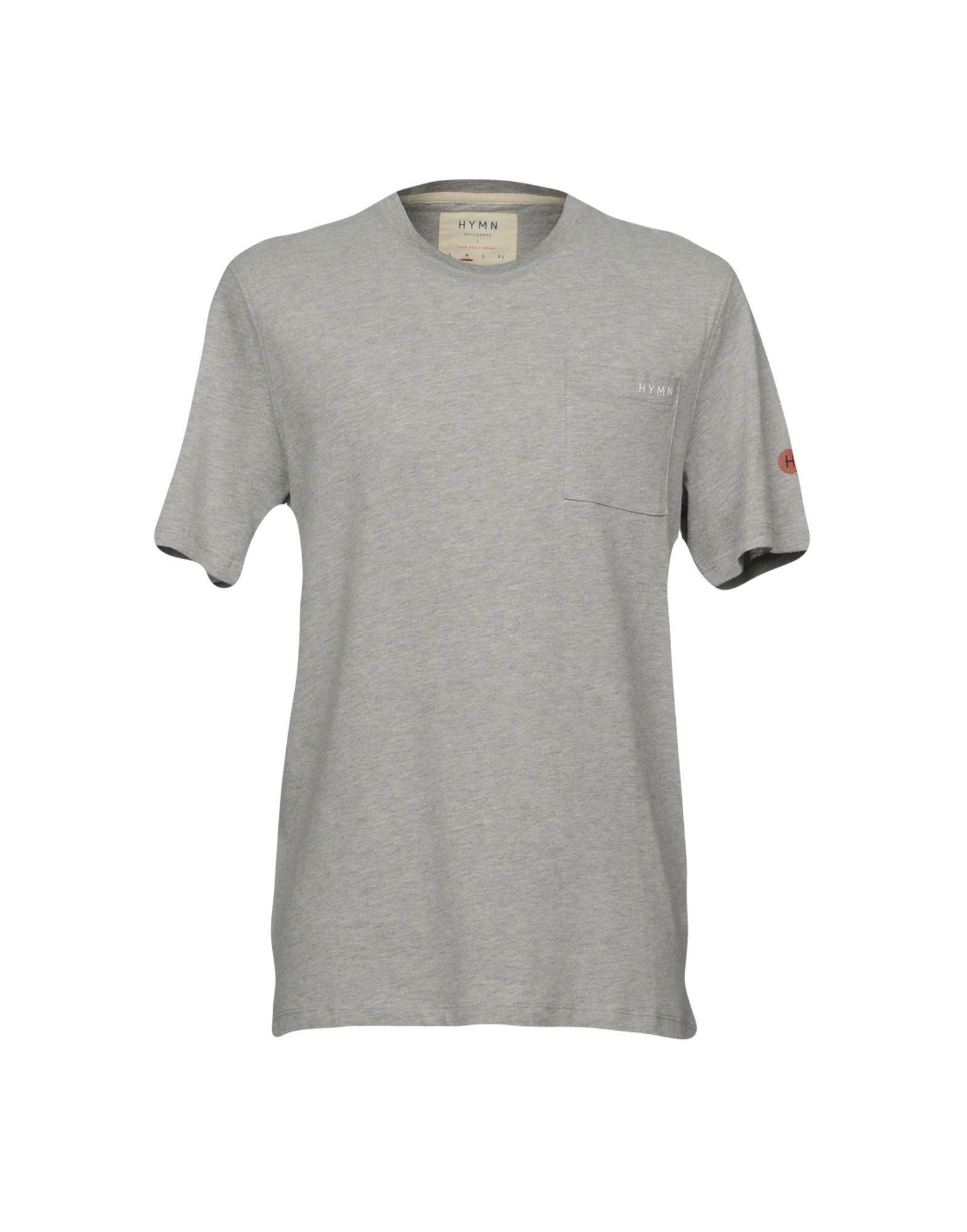 HYMN Herren T-shirts Farbe Grau Größe 7