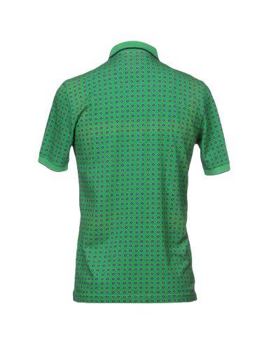Фото 2 - Мужское поло  светло-зеленого цвета