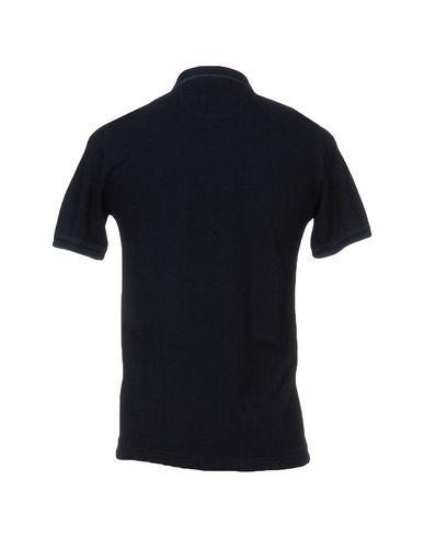 Фото 2 - Мужское поло  темно-синего цвета