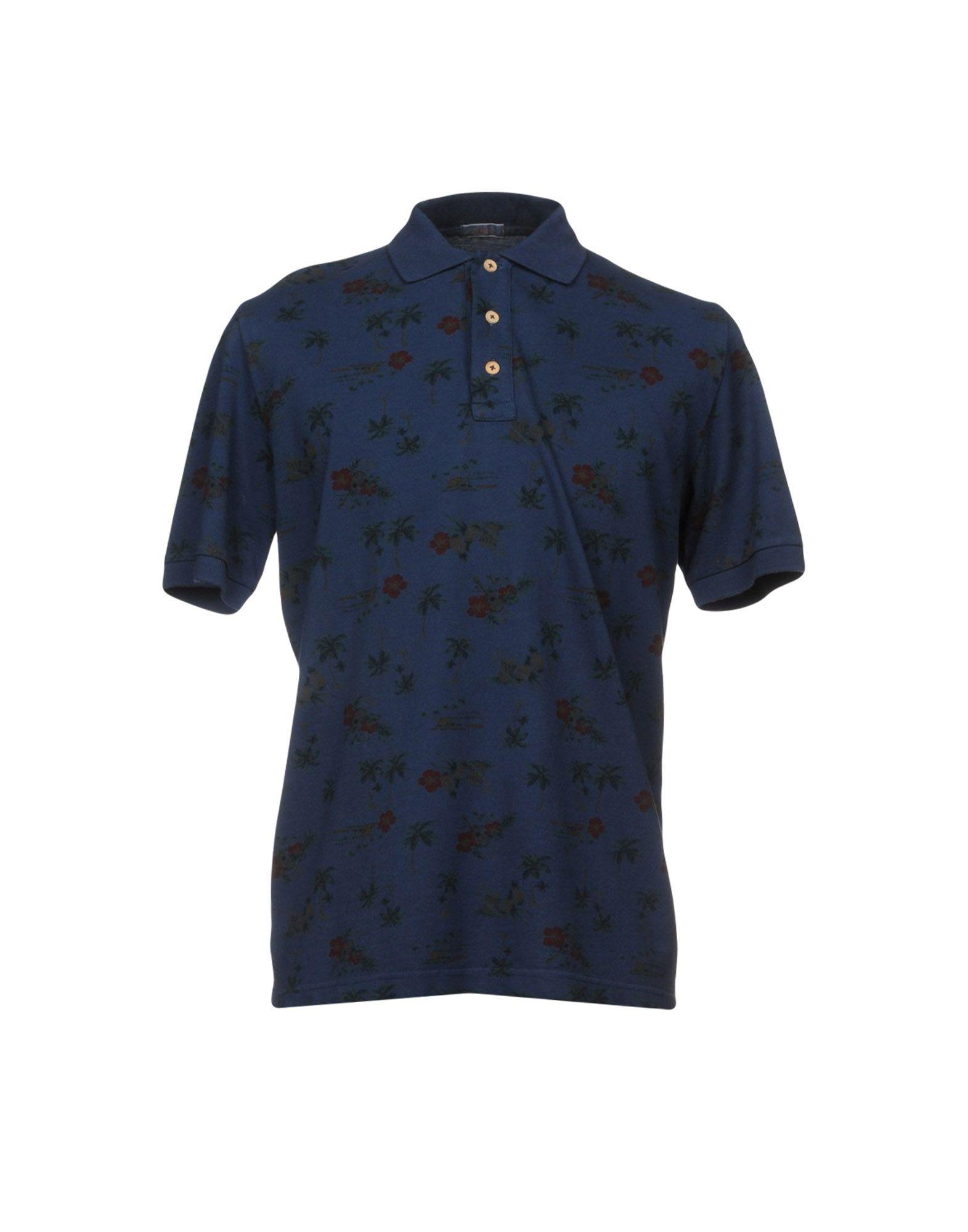 ALTEA dal 1973 Поло altea dal 1973 джинсовая рубашка