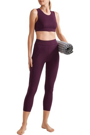 NO KA 'OI Lani stretch-jersey sports bra