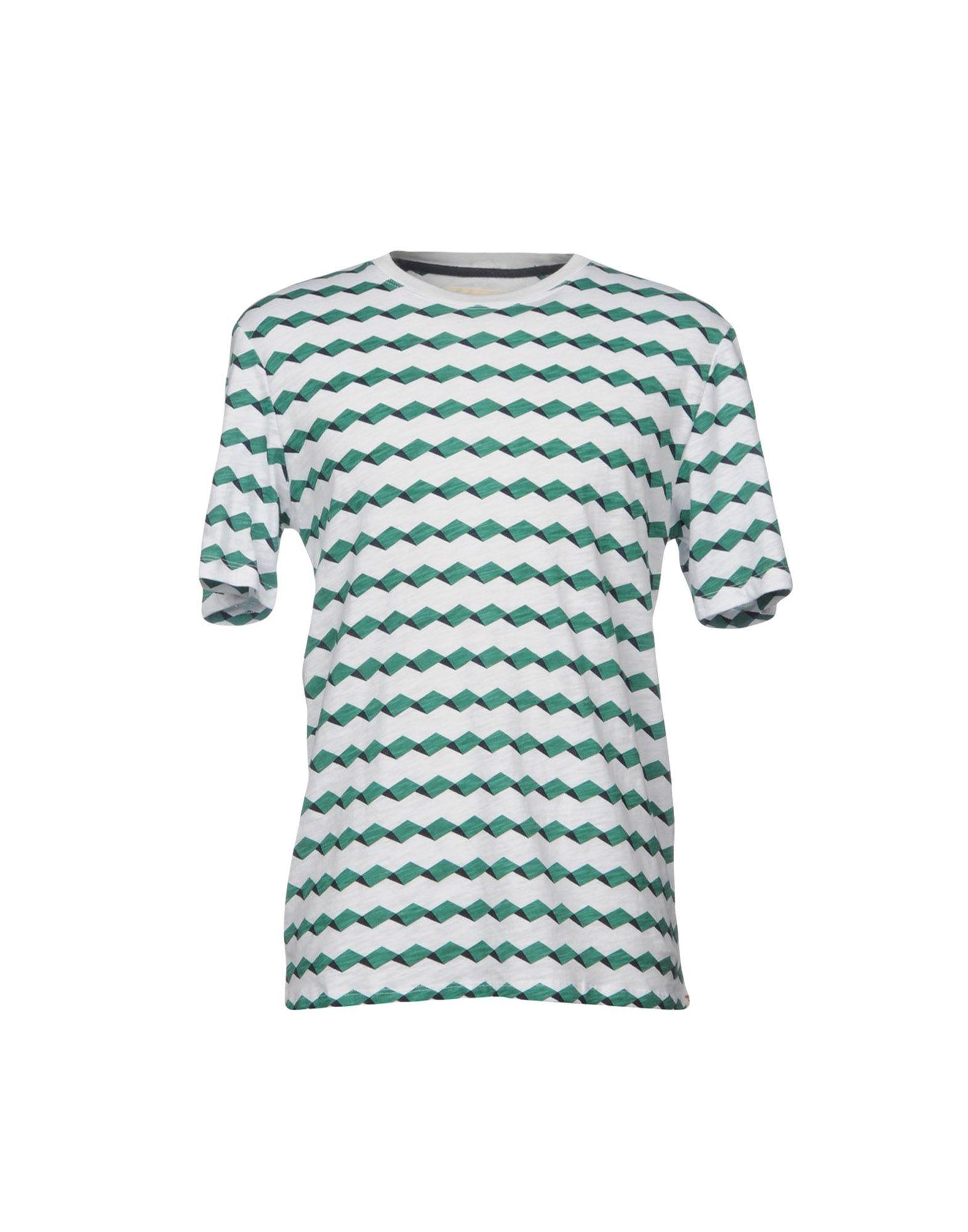 HYMN Herren T-shirts Farbe Grün Größe 6