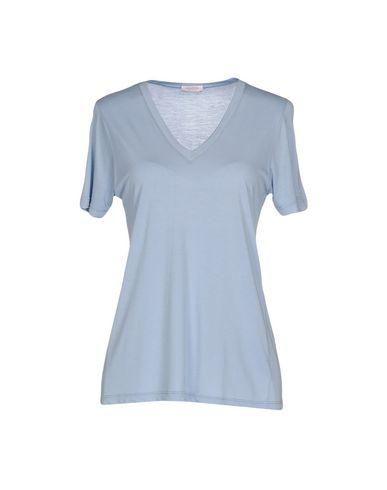Фото - Женскую футболку  небесно-голубого цвета