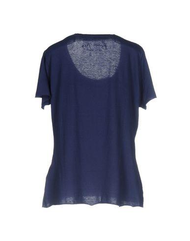 Фото 2 - Женскую футболку PRINCE TEES темно-синего цвета