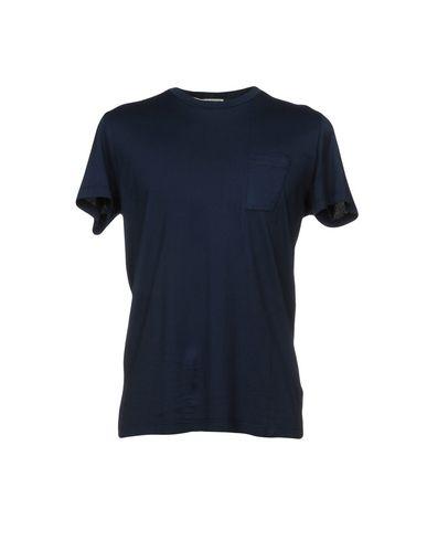 Фото - Женскую футболку LOW BRAND темно-синего цвета