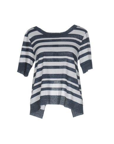 Фото - Женскую футболку 5PREVIEW темно-синего цвета
